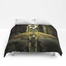 Barcelona Alley Comforters