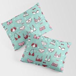 undies hand drawn andrea lauren pattern underwear lingerie Pillow Sham