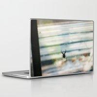 spider Laptop & iPad Skins featuring SPIDER by sincerelykarissa