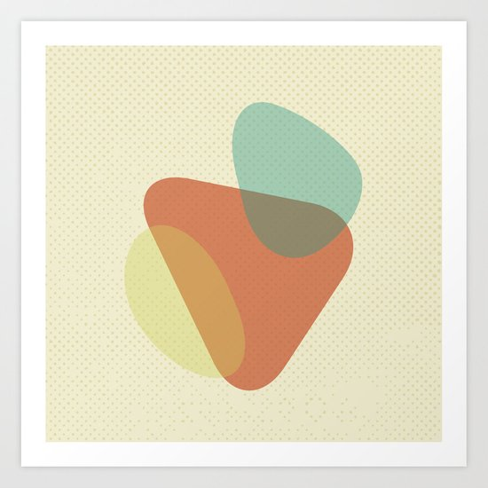FLUID IX Art Print