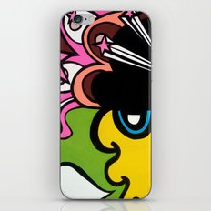 OPEN the PINK DOORWAY to YOUR MIND iPhone & iPod Skin