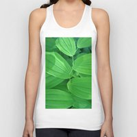 sewing Tank Tops featuring Nature's Sewing Thread by Ann Horn