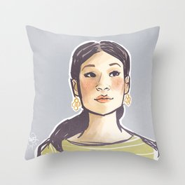 elementary: joan watson [3] Throw Pillow