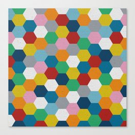 Honeycomb 3 Canvas Print