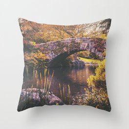 New York City Autumn Throw Pillow
