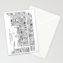 Periodic Table of the Elephants Stationery Cards