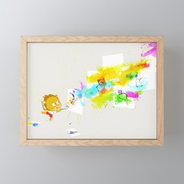Leo Framed Mini Art Print