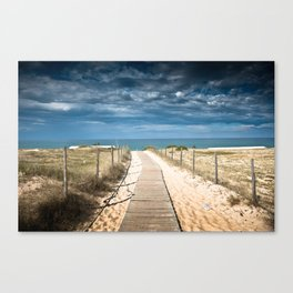 Dunes of Hossegor, France, 2013 Canvas Print
