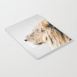 Lion Portrait - Colorful Notebook