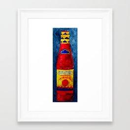 LHS - Hot Sauce Framed Art Print