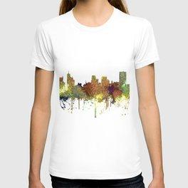 Memphis, Tennessee Skyline - Safari Buff T-shirt