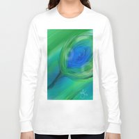 peacock Long Sleeve T-shirts featuring Peacock by ANoelleJay