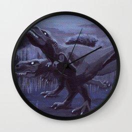 Hunting Party Wall Clock
