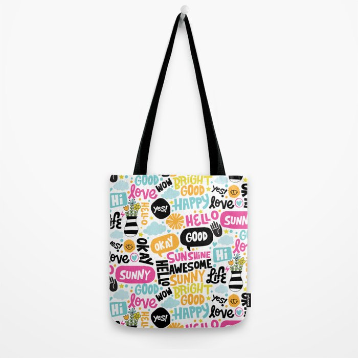Sunshine & happiness Tote Bag