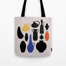West German Ceramics Tote Bag