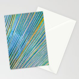 Vibrant Glitter Peacock Stationery Cards