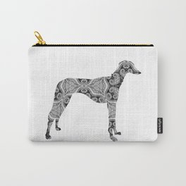 Paisley Dog No. 2 - Extra Large Carry-All Pouch