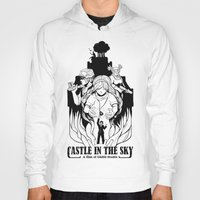 castle in the sky Hoodies featuring Castle in The Sky - 1 by LinhBR
