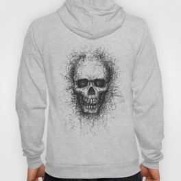 Ballpoint Skull Hoody