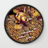 body Wall Clocks featuring Body by Andrej Balaz