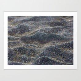 Glitter Sands Art Print