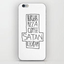 pizza & moar iPhone Skin
