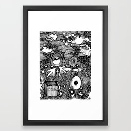 Planet Shooz | Limited Edition of 50 Prints Framed Art Print