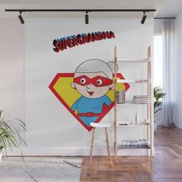 Super Grandma 3 Wall Mural