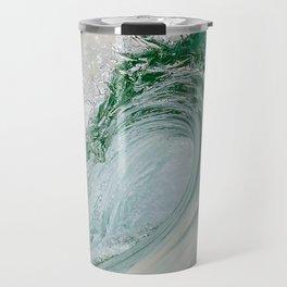 Glassy Wave Travel Mug
