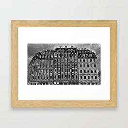 Dresden's Architecture Framed Art Print
