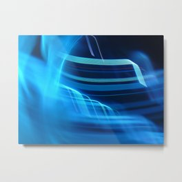 Smooth light art Metal Print