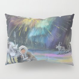 Inuit Happy New Year Pillow Sham