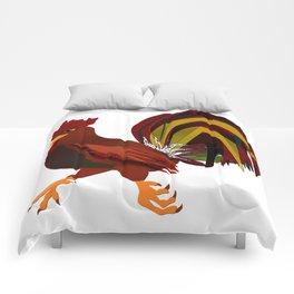 Feathery Noisemaker Comforters