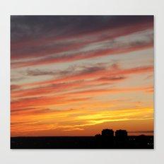 Horizon On Fire Canvas Print