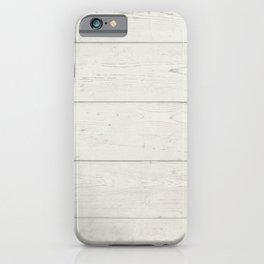 Whitewashed Oak iPhone Case