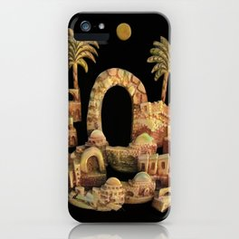 An Old Oriental City by rafi talby iPhone Case