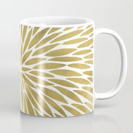 Golden Burst Coffee Mug