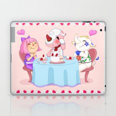 Animal Crossing :: Cake time Laptop & iPad Skin