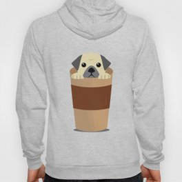 Cute Dog Coffee Hoody