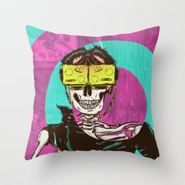 Virtual Dead Reality Throw Pillow