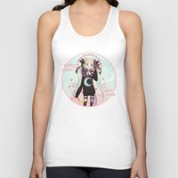 soldier Tank Tops featuring ☽ Pretty Soldier ☾ by ♡ SUSHICORE ♡