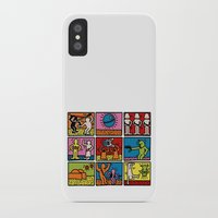keith haring iPhone & iPod Cases featuring Haring - étoiles W. by Krikoui