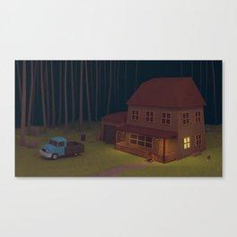 """""""Scenes of losses"""" Scene 01 Canvas Print"""