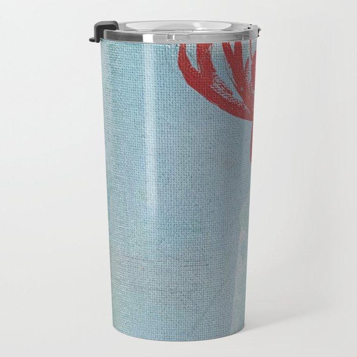 spider lily Travel Mug