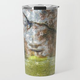 Pagoda Battersea Park Art Travel Mug