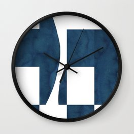Deconstruction Wall Clock