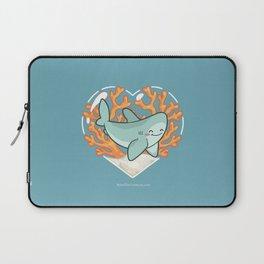 BYTE the Great White Shark Laptop Sleeve