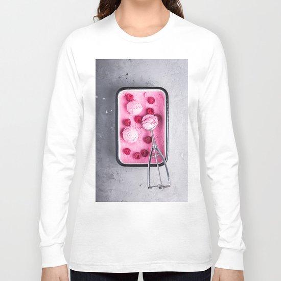 pink ice cream Long Sleeve T-shirt