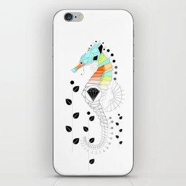 Geoseahorse iPhone Skin