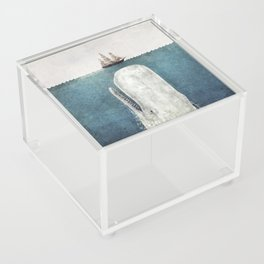 The Whale - vintage Acrylic Box